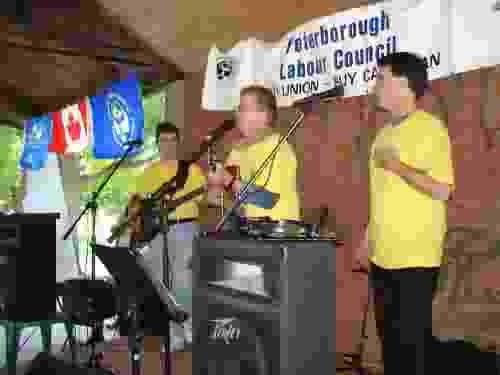Labour Day Peterborough with Mark and Kevin